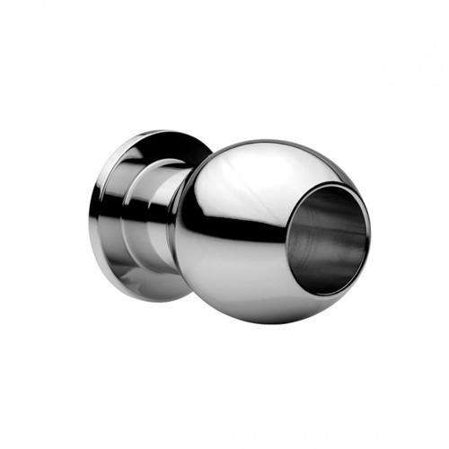 Medium Abyss - Hohler Analplug aus Stahl