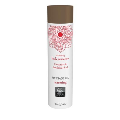 Massageöl wärmend - Koriander und Sandelholz