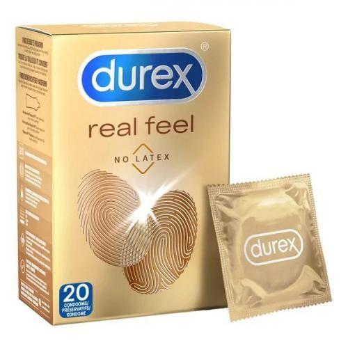 Durex Real Feel Kondome - 20 Stück