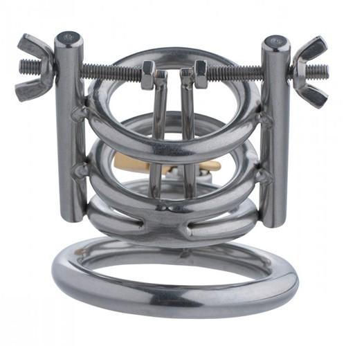 Deluxe Cleaver Harnröhren spreizer CBT Keuschheitskäfig