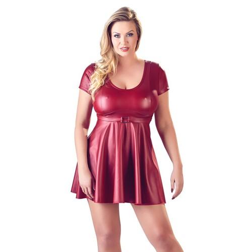 Kleid mit Zierschnalle